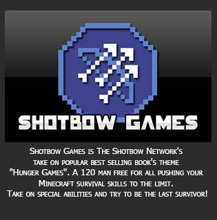 Shotbow Games is The Shotbow Network's take on popular best selling book's theme